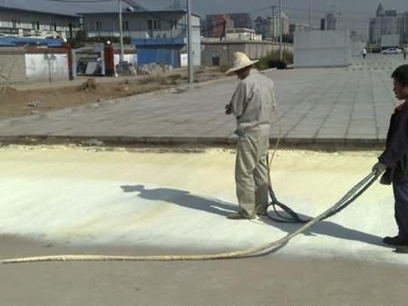 屋面保温聚氨酯喷涂发泡案例